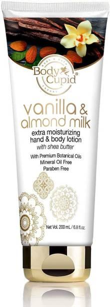 Body Cupid Vanila and Almond Milk Extra Moisturising Hand & Body Lotion