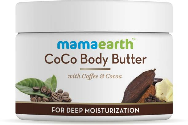 MamaEarth CoCo Body Butter For Dry Skin, with Coffee & Cocoa