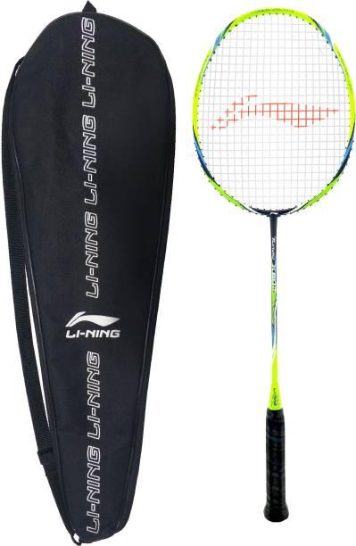 LI-NING TURBO X 80 -II Black, Blue, Green Strung Badminton Racquet