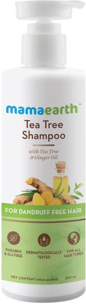 MamaEarth Tea Tree Anti Dandruff Shampoo