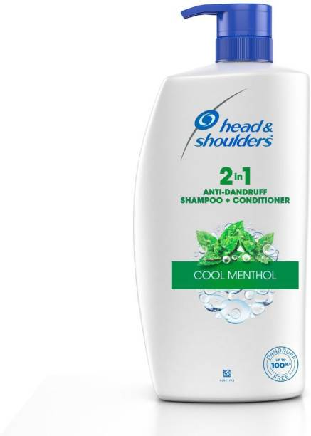 HEAD & SHOULDERS 2-in-1, Cool Menthol, 1 Litre