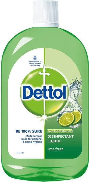 DETTOL Disinfectant Lime Fresh Antiseptic Liquid