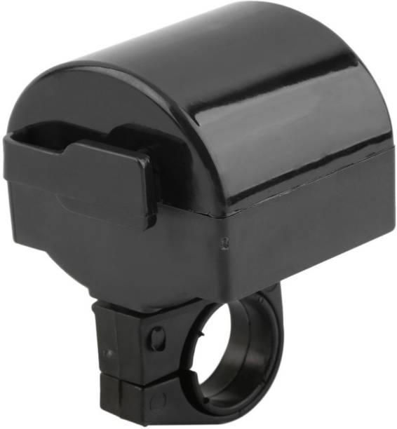 Nema MTB Bicycle Electronic Bell Loud Horn - Black Bell