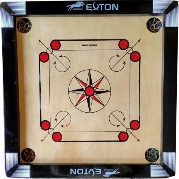 exton Carrom Board 1.5*1.5 50.8 cm Carrom Board