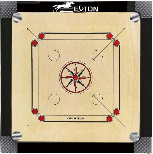 exton CARROM BOARD MEDIUM SIZE 26 INCH 1.5*1.5 66.04 cm Carrom Board