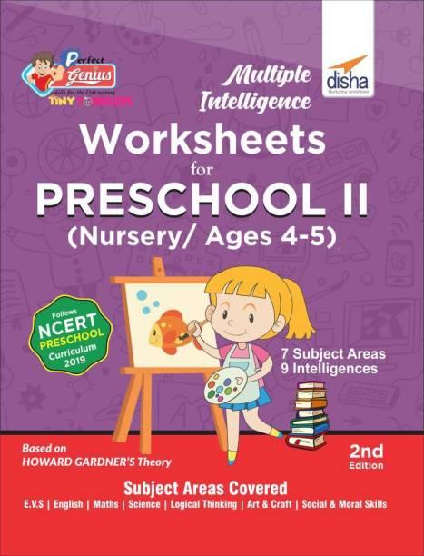 Multiple Intelligence Worksheets for PRESCHOOL II (Nursery/ Ages 4-5) 2nd Edition