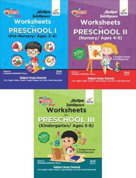 Multiple Intelligence Worksheets for Preschool I, II & III (Pre-Nursery, Nursery & Kindergarten/ Ages 3-6)