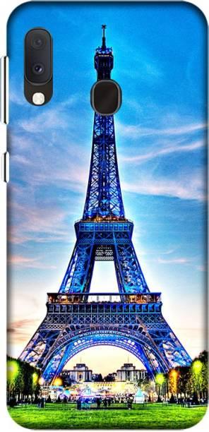CASEMANTRA Back Cover for Samsung Galaxy A20e, SM-A202F - effile tower Print