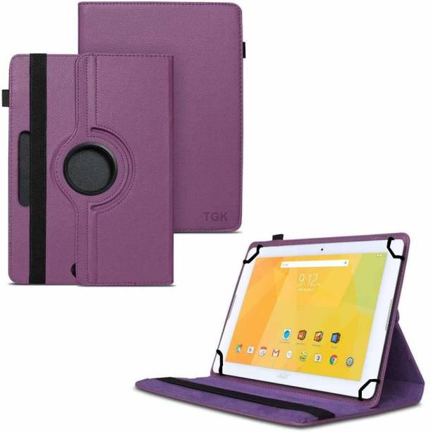 TGK Flip Cover for Acer Iconia One B3-A20 10 inch Tablet with Rotating Leather Stand Case