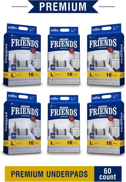 FRIENDS Premium Underpads Adult Diapers - L