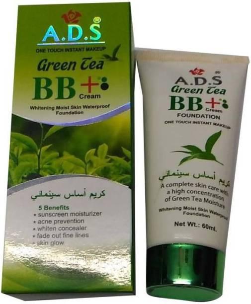 ads Green BB+ Cream (Whitening Moist Skin Waterproof Foundation) Foundation