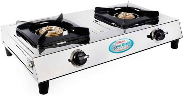 Sun Glain Stainless Steel Manual Gas Stove