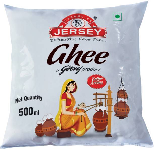 Jersey Buffalo Ghee 500 ml Pouch