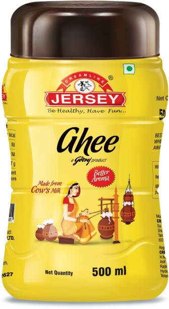 Jersey Cow Ghee 500 ml Plastic Bottle