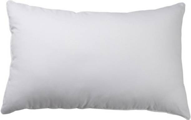 Zarglic Polyester Fibre Solid Sleeping Pillow Pack of 1