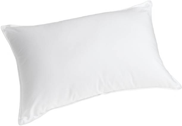 Zarglic Pillow Polyester Fibre Solid Sleeping Pillow Pack of 1