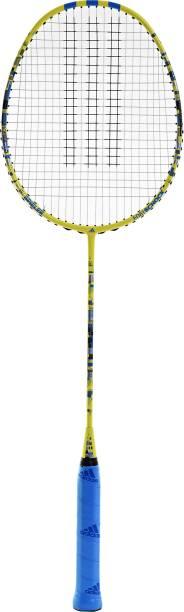 ADIDAS SPIELER E08.1 SHOCK Yellow Strung Badminton Racquet
