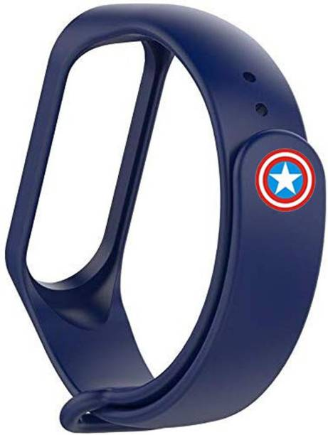 CellFAther Watch Band Silicone Wristbands Avengers Smart Band Strap