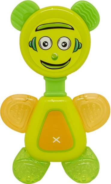 Buddsbuddy Premium BPA Free Flexi Teether, Pain Relief Easy Teething Toy for Babies Teether