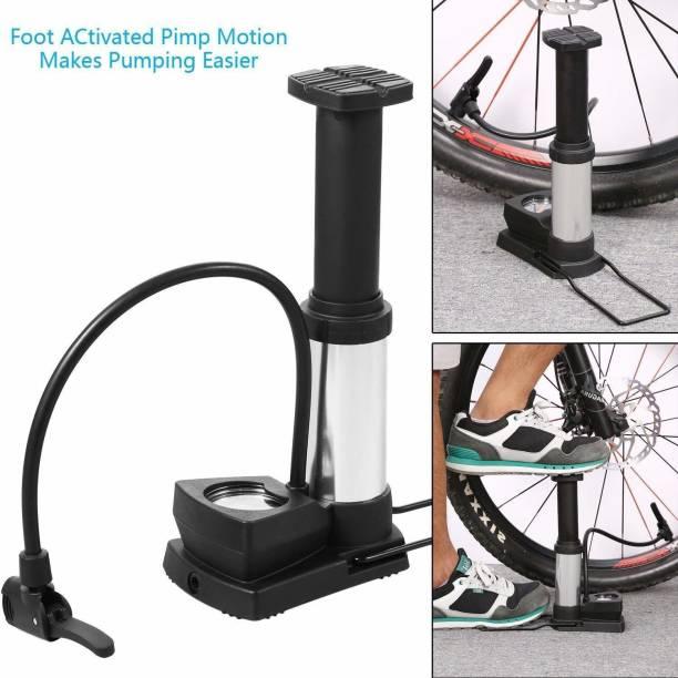 Ajod Floor Pump with Gauge Floor Bicycle Floor Pump Bicycle, Ball Pump
