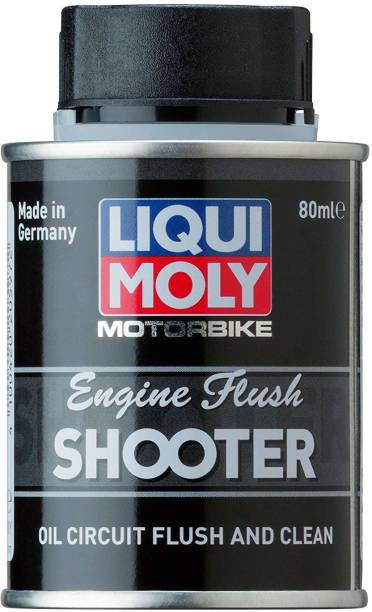 Liqui Moly Motorbike Engine Flush Shooter 20597 Motorbike Engine Flush Shooter (80 ml) Oil Flush and Treatment