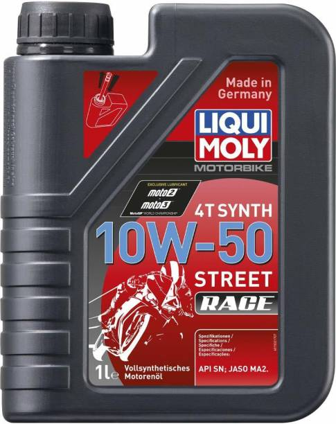 Liqui Moly 4T 10W50 ST Race Motorbike Fully Full-Synthetic Engine Oil