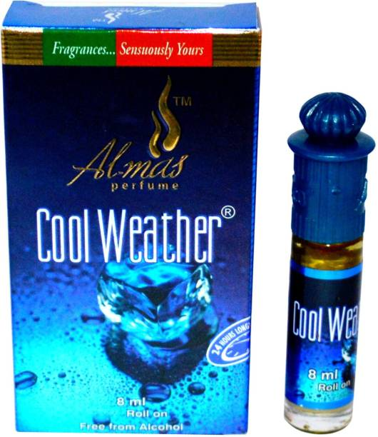 Almas Cool Weather Pocket Attar. Floral Attar