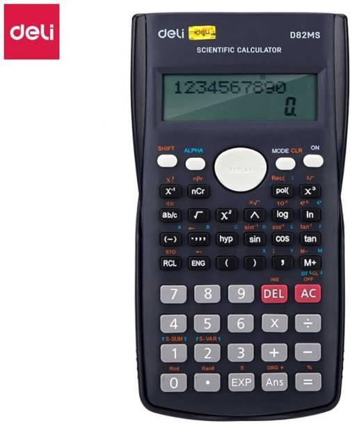 Deli ED 82MS 240 Function Scientific Calculator Engineer calculator student 10+2 Digits Engineering Calculator Scientific  Calculator