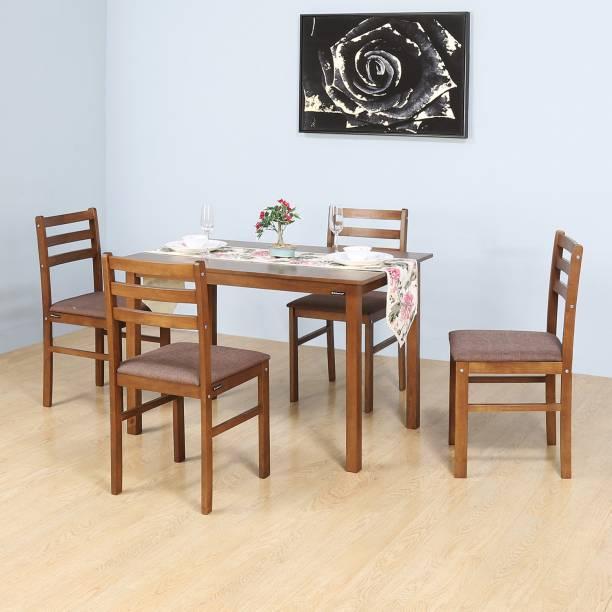 Nilkamal Carlos Engineered Wood 4 Seater Dining Set
