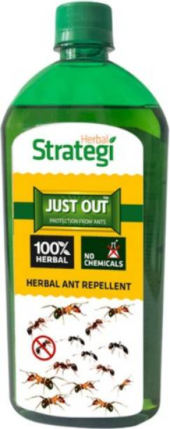 HERBAL STRATEGI Herbal Ant Repellent Spray Refill - 500 ml