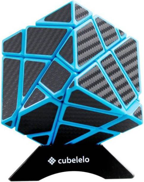 Cubelelo Ghost Cube Blue (Carbon Fiber Sticker) Puzzle toy speed cube