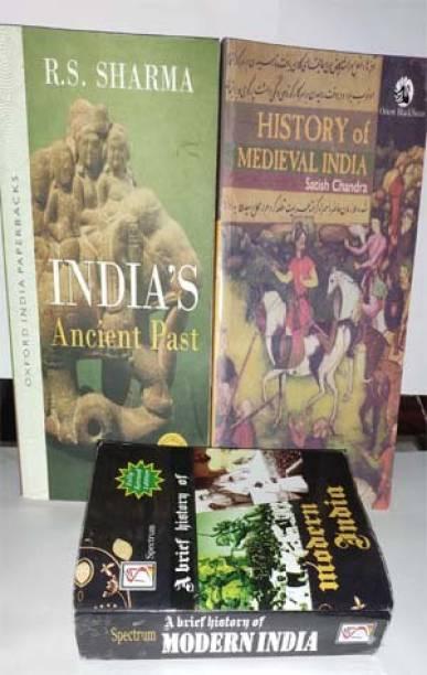 UPSC History Book By (Satish, Ram Saran, Spectrum)