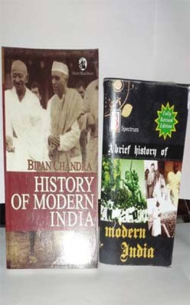 UPSC Modern History Books (Modern India)