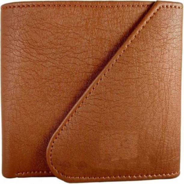 Ayesha Fashion Men Casual Tan Artificial Leather Wallet