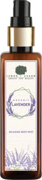 Lemon Charm Organic Lavender Relaxing & Hydrating Body Mist Body Mist  -  For Men & Women
