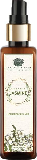 Lemon Charm Organic Jasmine Hydrating Body Mist Body Mist  -  For Men & Women