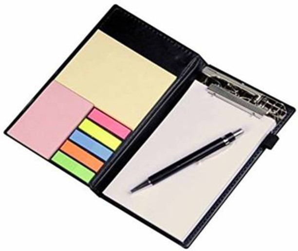 800 Sheet Memo Cube In Holder With Coloured Paper Home Office 5 Sheet Tester