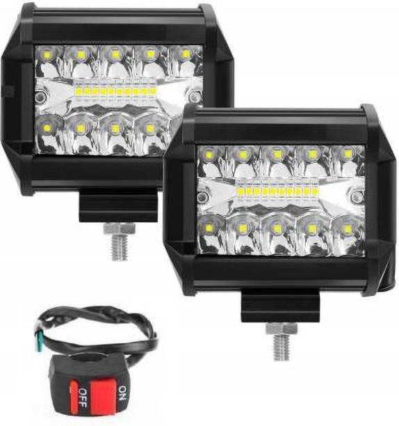 imad LED Fog Light For Universal For Bike, Universal For Car Universal For Bike, Universal For Car