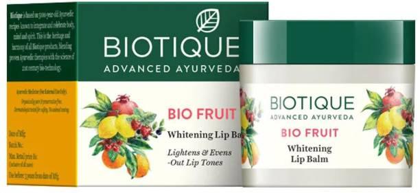 BIOTIQUE Bio Fruit Whitening Lip Balm 12gm (pack of 2) fruit