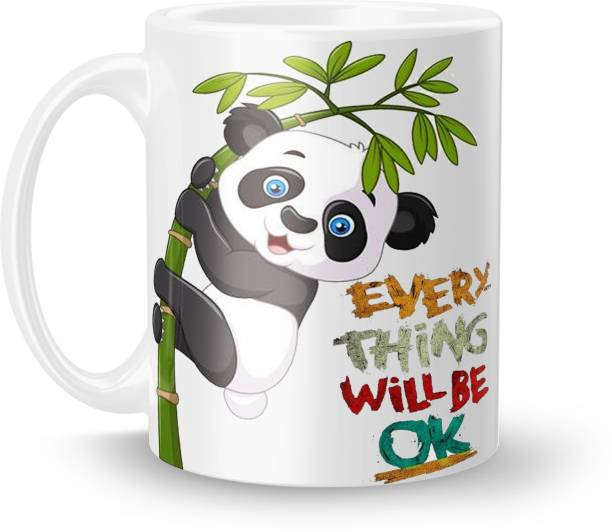 ECFAK Panda E020 Ceramic Coffee Mug
