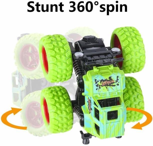 napster Mini Monster Trucks Friction Powered Cars (Multicolor)