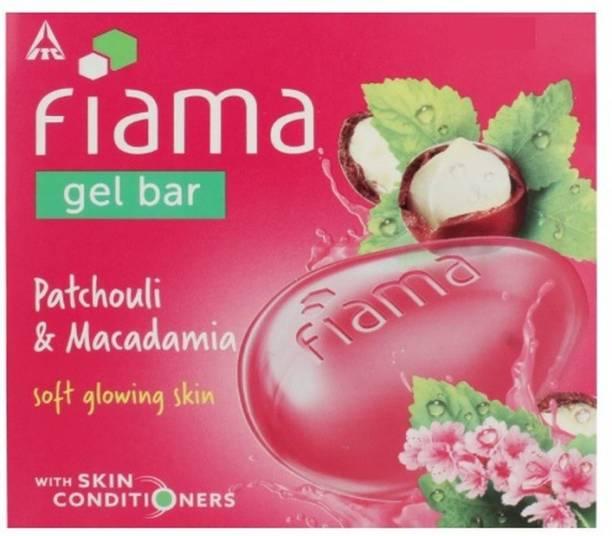 FIAMA Patchouli & Macadamia Gel Bar