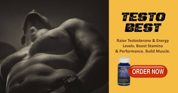 Enorgen Testo Best - Testosterone, Strength Booster, Builds Muscle Naturally