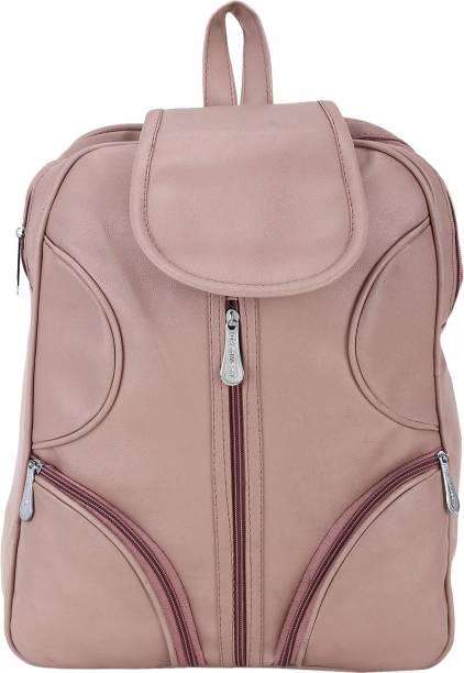 AASFA PU Leather Backpack School Bag Student Backpack Women Travel bag 12 L Backpack