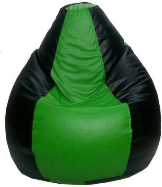 Ds Fashion Large Tear Drop Bean Bag Cover  (Without Beans)