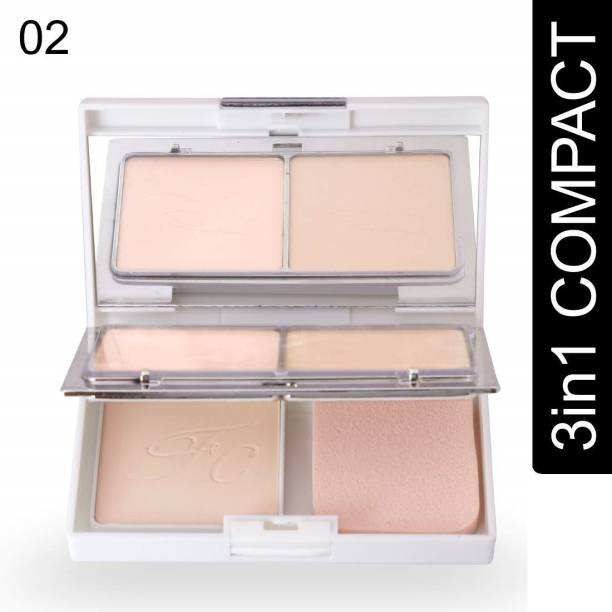 GRAYLIN 3 IN 1 SHIMMER & MATTE SHINY COMPACT POWDER  Compact