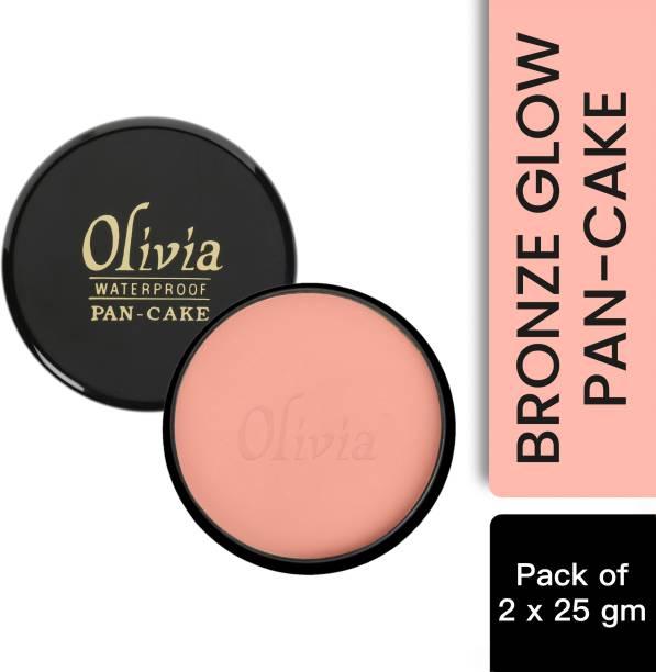 Olivia 100% Waterproof Pan Cake Makeup Concealer Shade No. 22 - Pack of 2 Concealer