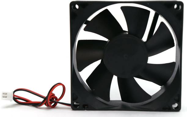 Electronicspices DC 12V Cooling Fan for PC Case CPU Cooler Radiator WITH (JST CONNECTOR) Cooler