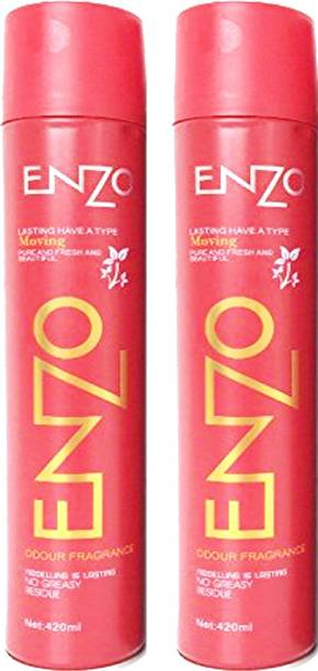 enzo Hair Spray (Pack of 2) Hair Spray