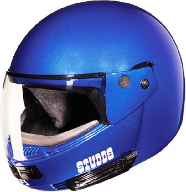 STUDDS Ninja Pastel Plain Motorbike Helmet
